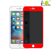 New Prodcut Colorful privacy tempered glass screen protector for iphone 6