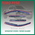 Smoke Window Visor Vent Shade Rain/Sun Guard Deflectors