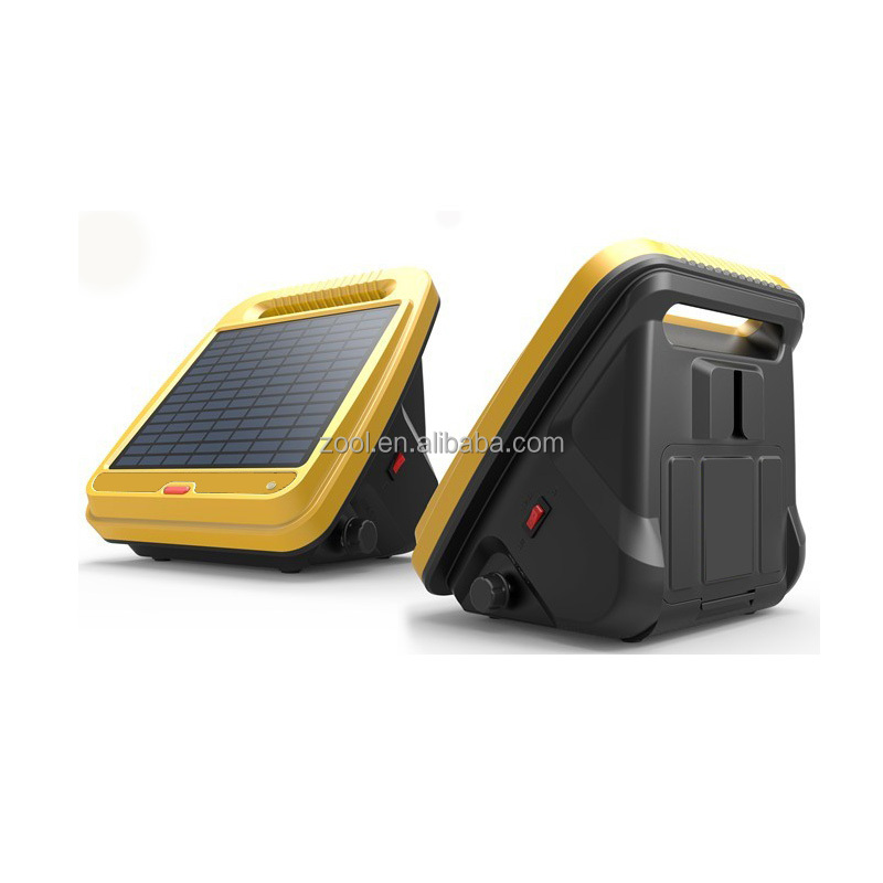Smart Power Solar Electric Fence Charger For Farm Livestock Electric Fence Pules Energizer