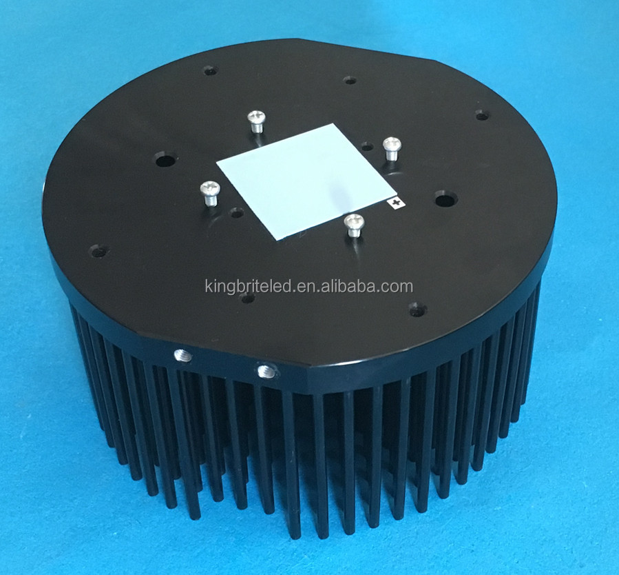 50- 65W CXB3590 cob led pin fin heatsink