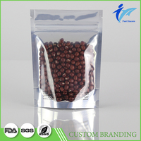 Dried Food Bulk Bean Zip Lock Packaging Bag