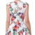 Belle Poque Sleeveless Floral Pattern Inspired Cotton Dress Vintage Retro 1950s BP000105-8