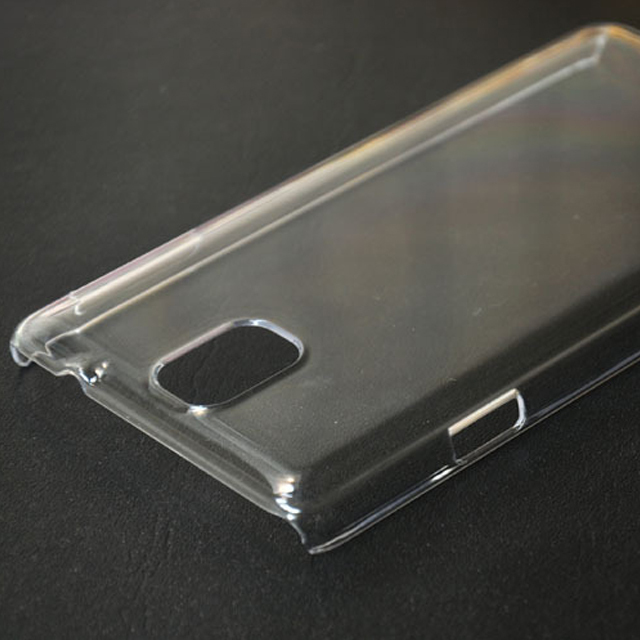 Cell Phone DIY Hard PC Crystal Transparent Mobile Phone Case For Samsung Galaxy Note 3