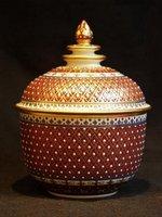 Benjarong pottery