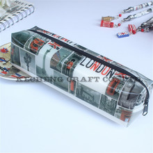 High quality PVC Bags Fancy plastic colored Pencil case Pouches for School kids