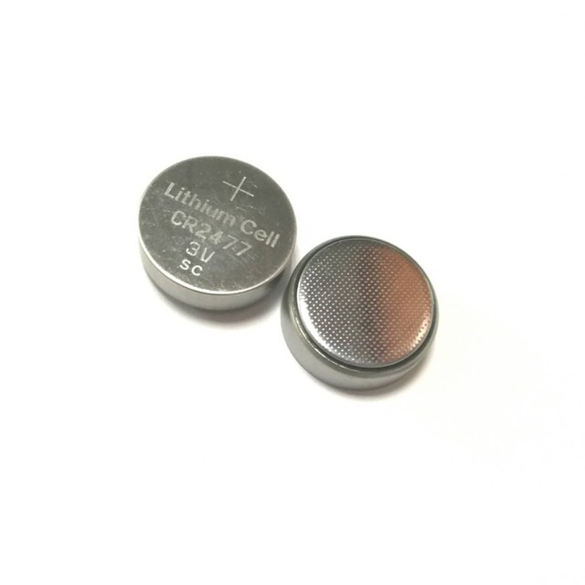 3V CR2016 / cr1616 / CR2032 / CR2025 / cr2450 / cr2477 lithium button battery cell with watch