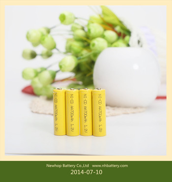 Nickel cadmium rechargeable battery No. 5 AA, rechargeable batteries, electric / remote control toy rechargeable 500 No. 5 batt