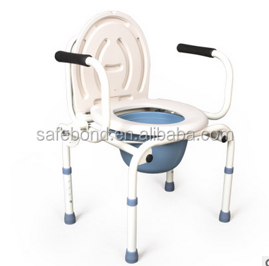 Hospital Disabled Folded Commode Chair Commode Chair Price