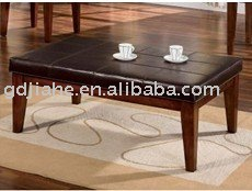 2016 New Design Home Style Fashional Coffee Table,leather top italian style coffee table