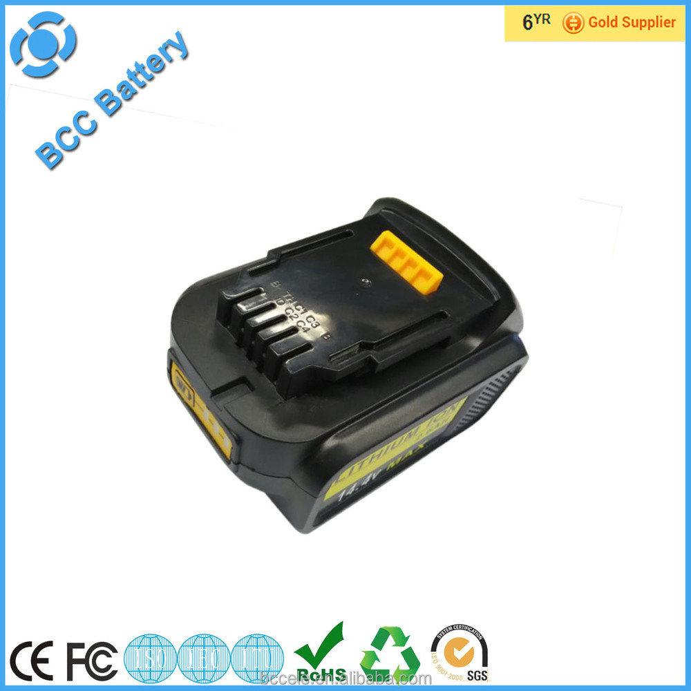Paypal accept ! high quality 18650 dewalt 14.4v 18v 3Ah Replacement Li-ion battery