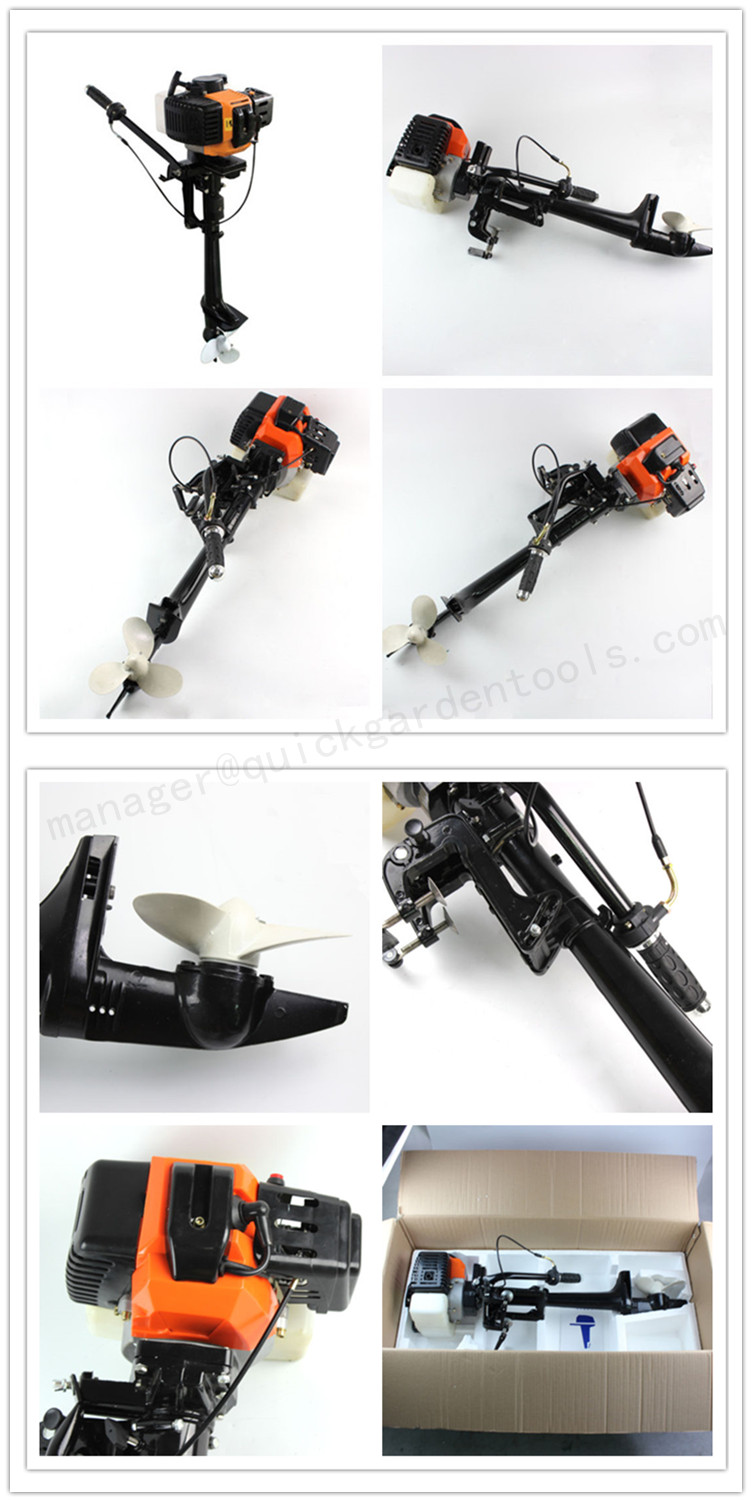 New design outboard motor of 2-stroke engine hot sales in china