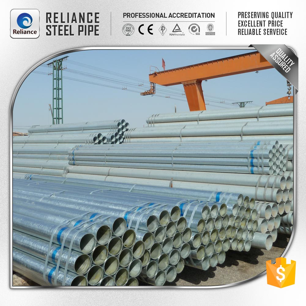 GALVANIZED STEEL PIPE FENCE POST SUPPORT