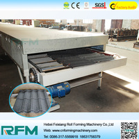 FX color stone sand blasting coated steel roof machine