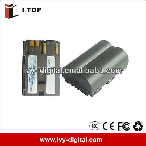 Digital Backup Camera battery BP-512 for Canon, 1400mAh