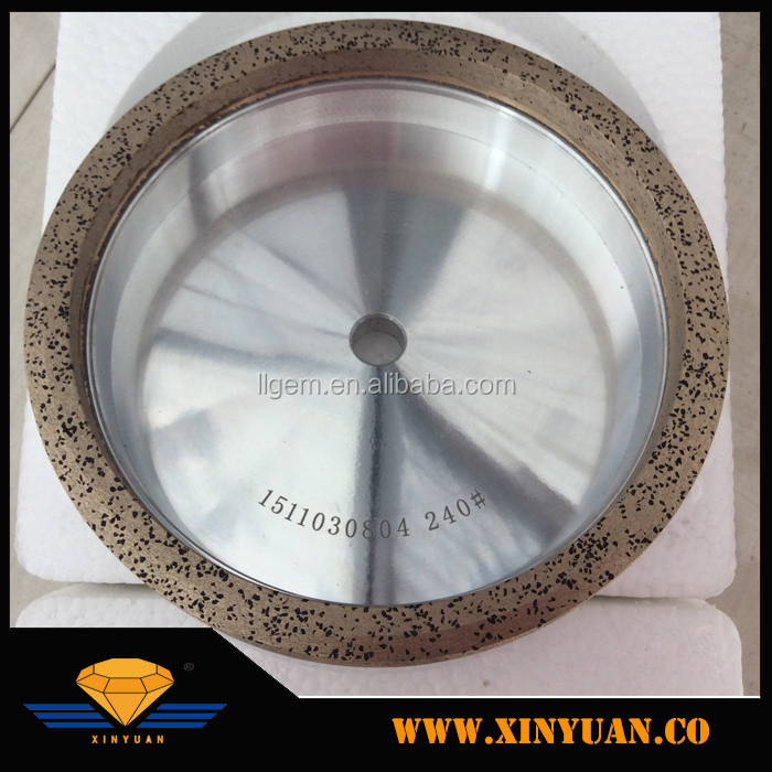 Metal bond diamond cup grinding wheel for glass edge 1A1 diamond grinding wheel