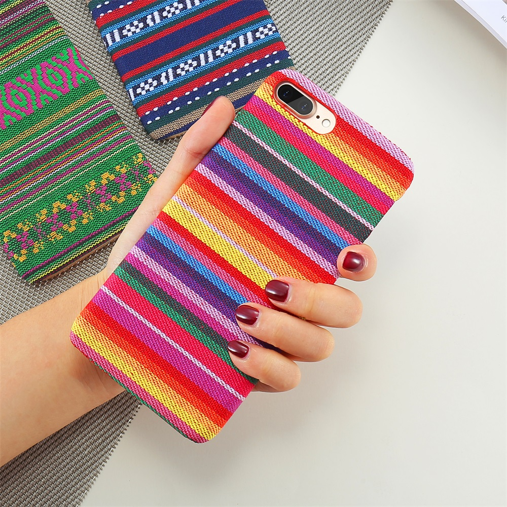 Bohemian Style Phone Case For iPhone 6 6S 7 Plus 5 5S SE Exotic Folk Traditional Cloth Fabrics Back Cover For iPhone 6 i 7 Case (8)