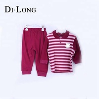 Wholesale Long Sleeve Spring Kids Clothing Set Children Boutique Clothes Sets