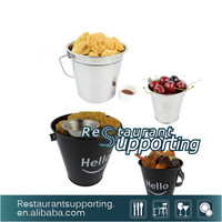 Mini Bar Metal Bucket for Food/Snack Popcorn Bucket from China Supplier