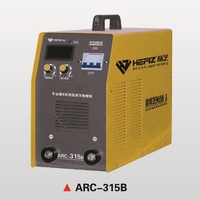 HEFIZ 3 Phase 380V Inverter DC Electric Manual Welding Equipment ARC-315B With MOS New And Original Imported Components
