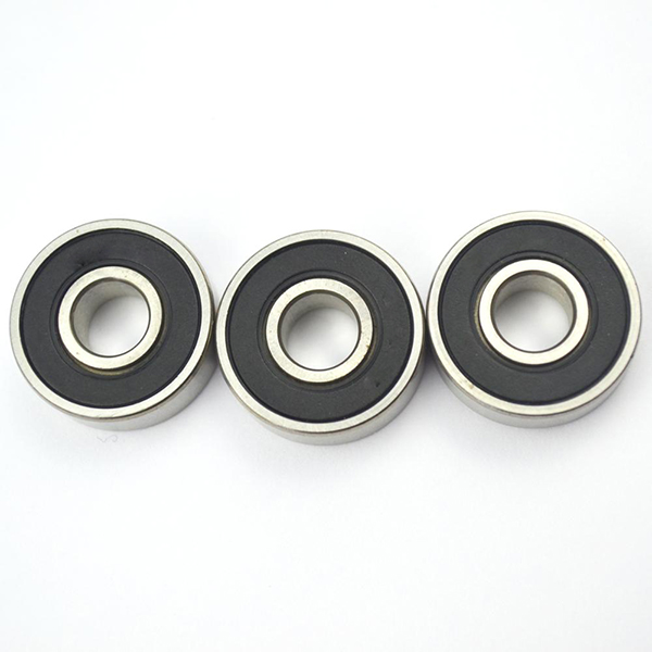 Standard size seal stainless steel single row deep groove ball bearing 609 for bicycle rear wheel