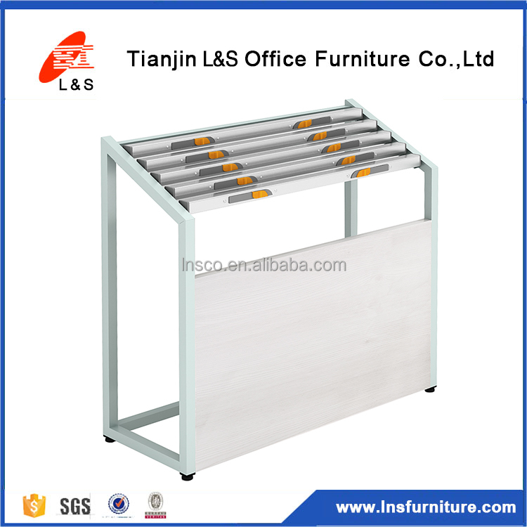 Alibaba China supplier cheap portable metal newspaper display shelf