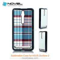 DIY sublimation 2D plastic phone cover for ASUS Zenfone 2