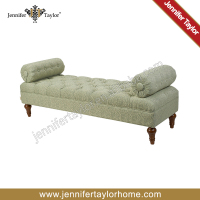Upholstery waiting room bed bench FB02-658M