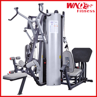 Multi-Stations Intergrated Exerciser/2015 my gym equipment/ Multi Functions/WNQ fitness(WNQ-518BK)