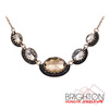 Crystal Stone Charm Necklace N1 57362
