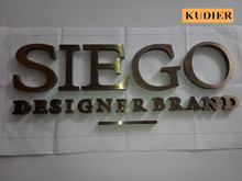 3d stainless steel metal sign letters
