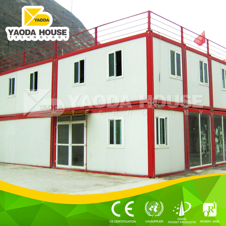 Qualified steel structure shelter refugee camp prefab house factory