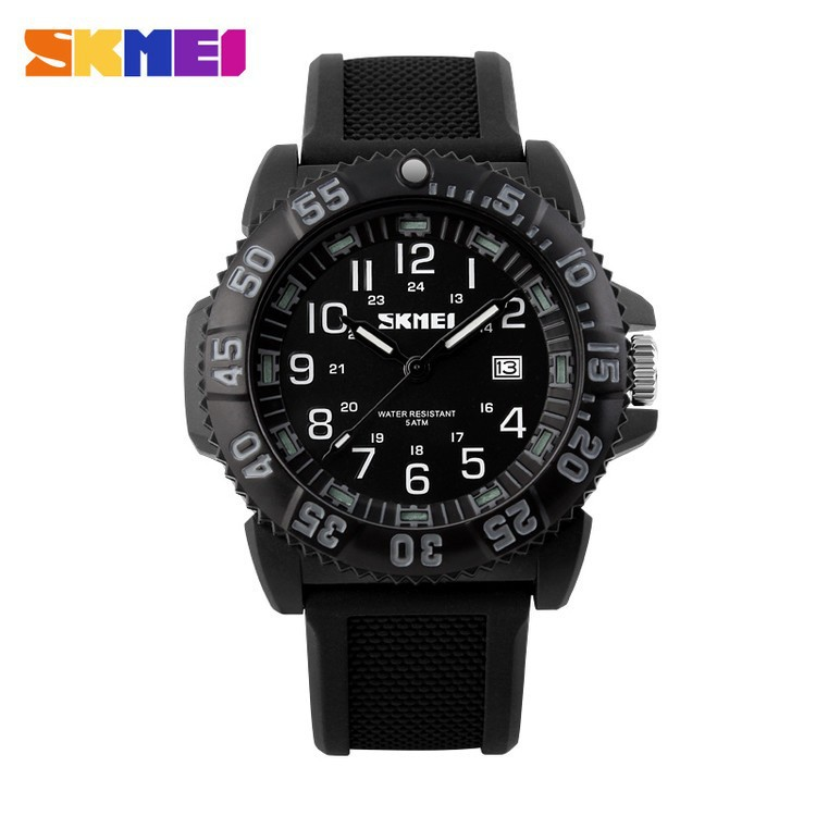 silicone watch custom band noctilucent scale display ceacelet slap quartz watch
