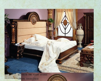 High end solid wood bedroom sets furnitures very cheap for Very cheap bedroom sets