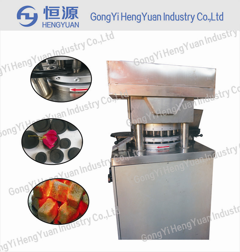 High pressure New type coconut hookah charcoal tablets machine