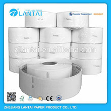 Thermal printed label roll paper