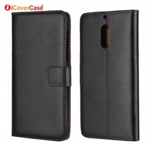 New Products 2017 Regenerated Leather Wallet Flip Stand Cover for Nokia 6 Capa Cara Etui Phone Case Covers