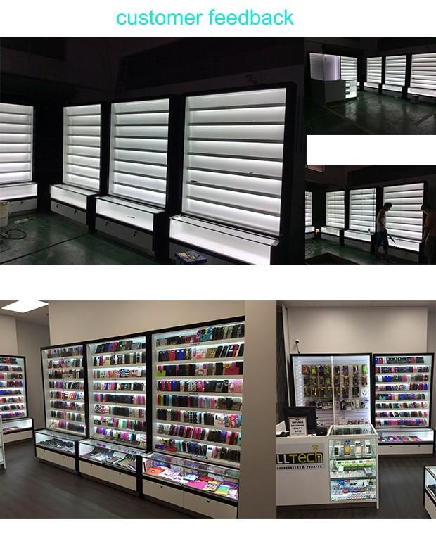 Mobile phone shop interior design display showcase for for Design shop mobel