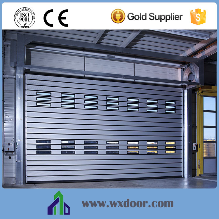 Wuxi China High Speed Spiral Interior Fast Rolling Door