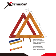 Xracing NMWT006-01 GPPS+IRON road safety reflector car emergency tools warning triangle