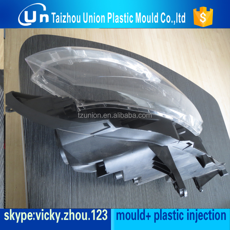oem automobile led tail light mold/mould/die of car spare part plastic injection china high quality mould