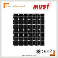Mono Solar Cell/Hot sale high effective 90W mono solar panel manufacturers in China