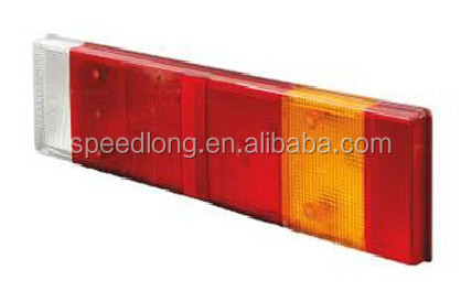 old international truck parts 13503473 1272653 8142919 tail light lens for daf xf 95