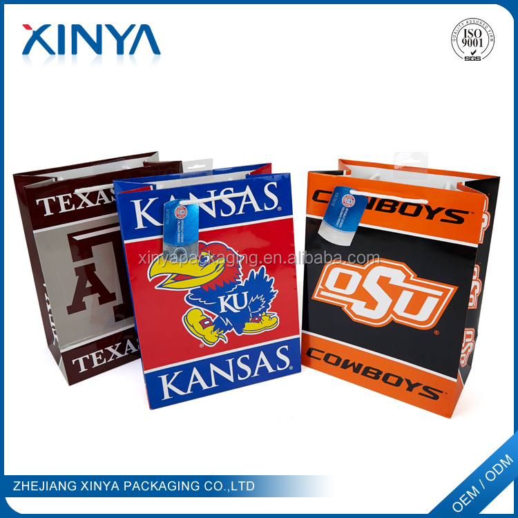 XINYA Bulk Buying Custom Logo Printed Paper Bag Raw Materials Of Paper Bag Making