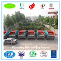 new 2016 invention patent FAG bearing heavy duty sludge dewatering vibrating screen for water separation