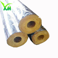 Aluminum foil cover Chinese heat insulation glass wool pipe