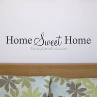 Best selling beautiful custom anti-water good adhesive removable family Love home decor embossed bedroom stickers