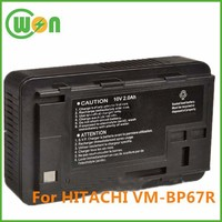 10V 1600mAh Lead Acid Battery for Hitachi VM-BP67R Replacement battery for Camcorder