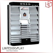 Wholesale Rotatable 3 Sides Retail Store Display MDF Car Accessories Display Rack