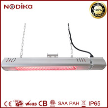 IP65 Electric Outdoor Infrared Patio Heater with Remote Control