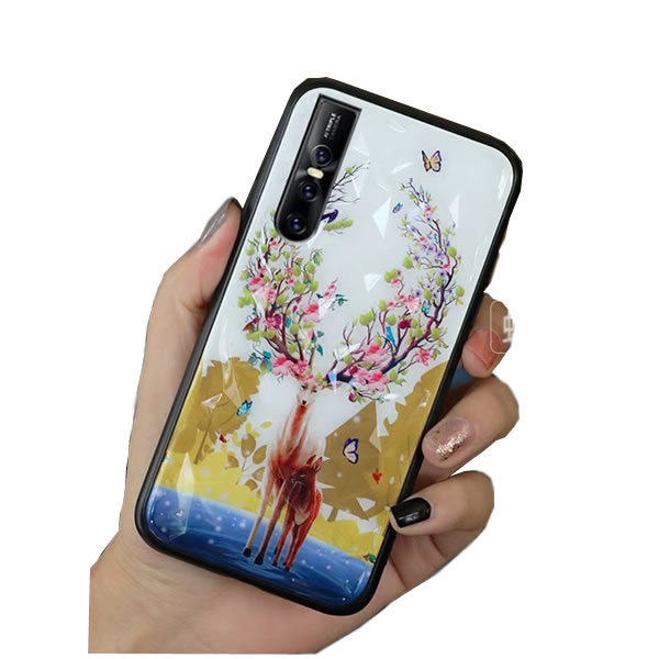 2019 NEW fashion design 3D printed pattern Mobile Cell Phone cover Case for Vivo v15 v15 pro s1 <strong>y3</strong> y17